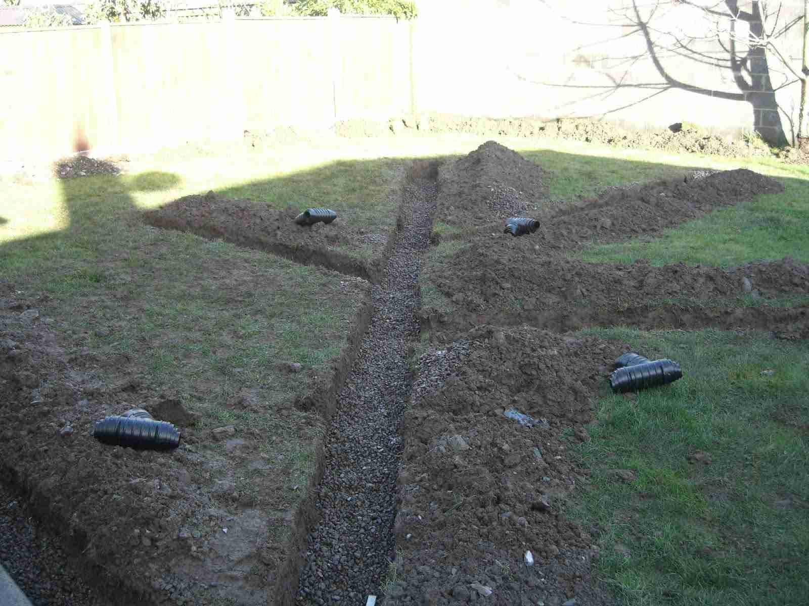 Garden Drainage Bettystown Co Meath