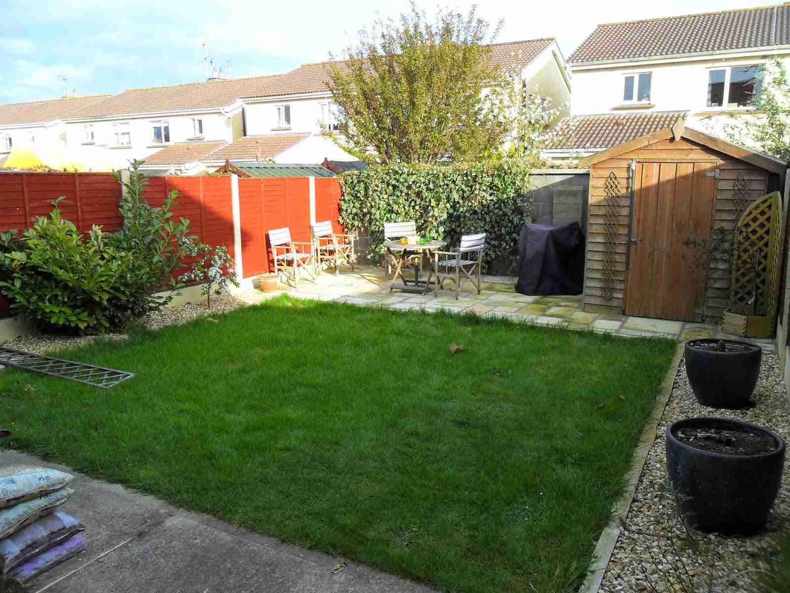 Landscaping A Rear Garden Design Makeover U0026 Decking, Inse Bay, Laytown,  Co.Meath