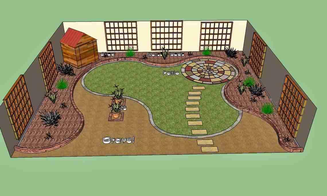 garden design elevation