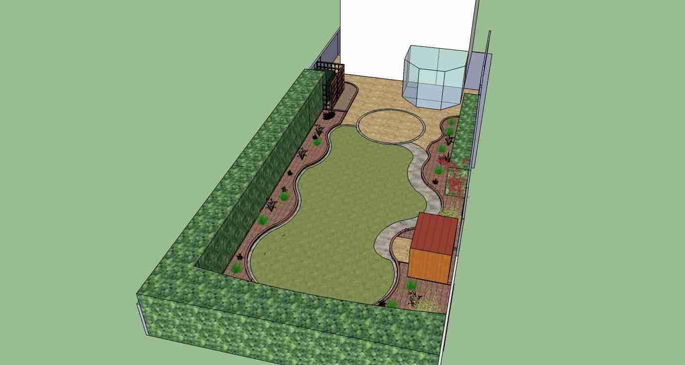 new garden design concept