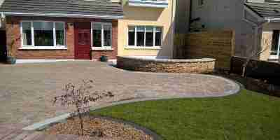 Front Garden Patio & Driveway Redesign Wellesley Manor, Bettystown, co.Meath