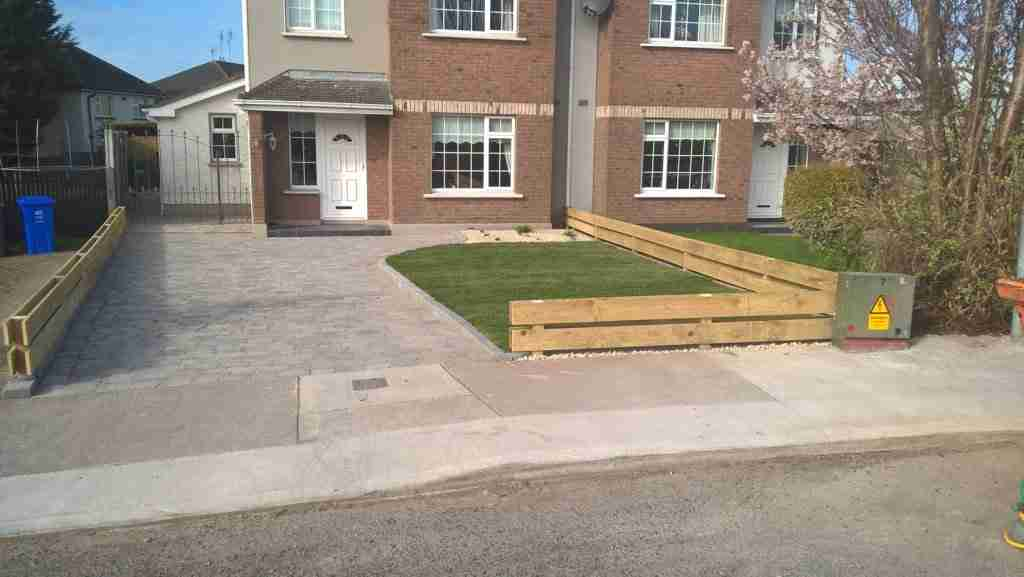 Front Driveway & Garden Redesign Oaklawns, Drogheda Co.Louth