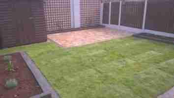 Rear Garden Design And Makeover Deepforde, Drogheda Co.Louth