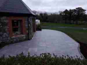 Image of much larger sized patio area from previous decking