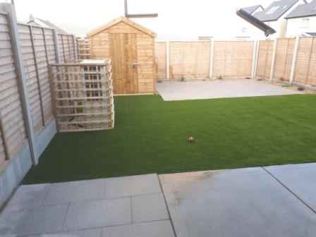 Child and pet friendly garden