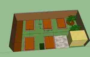 Vegetable layout design