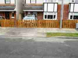 Picket Fencing & Gates, Bryanstown Manor, Drogheda co.Louth