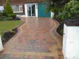 New Block Paved Driveway Foxfield, Raheny co.Dublin