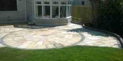 Sandstone Terrace & Garden Makeover, The Cloisters, Bettystown co.Meath