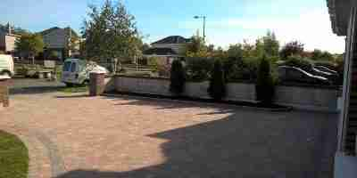 Front Garden And Driveway Redesign Old Balreask Woods, Navan co.Meath
