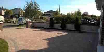 Front Garden And Driveway Redesign Old Balreask Woods, Navan co.Meath