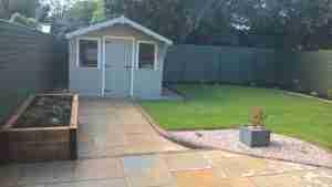 Image of new garden