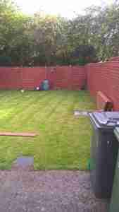 Image of garden Boundary fencing before