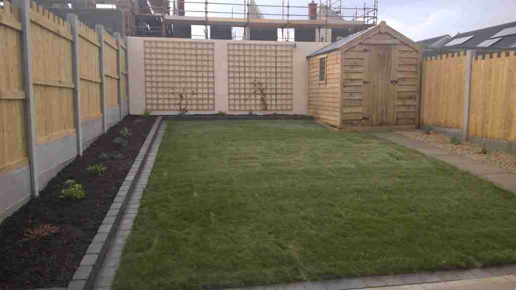 Rear Garden Design Castlelands, Balbriggan Co. Dublin
