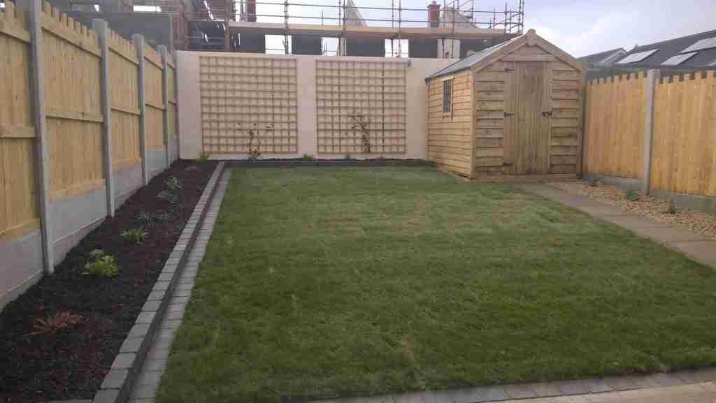 Rear Garden Design Castlelands, Balbriggan Co. Dublin