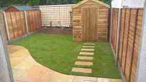 Rear Garden Design ,Cnoc Na Greine , Tullyallen Co.Louth