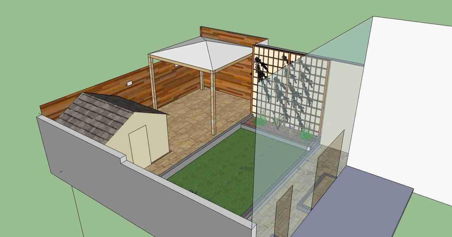 Garden design 3D