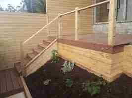 Low Maintenance Garden With Composite Decking,Timber Cladding, Raised Beds ,Chord Road ,Drogheda Co.louth