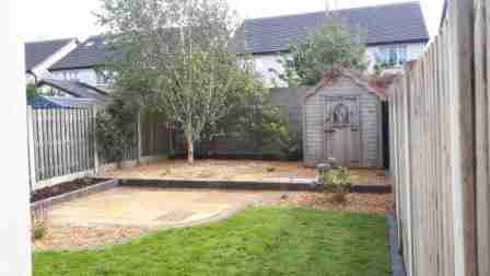 Low Maintenance Terraces for a Sloping Garden , Deepforde, Drogheda co.Louth