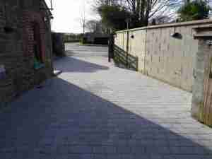 New Sienna Silver Granite textured Block driveway