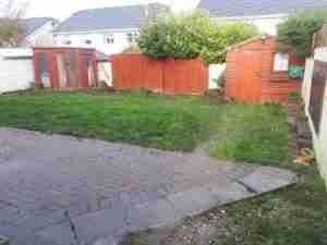 Tired and difficult to maintain sloping garden