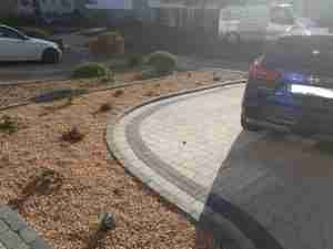 Image of Low maintenance gravel bed and planting
