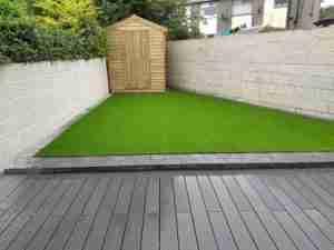 New inviting low maintenance garden