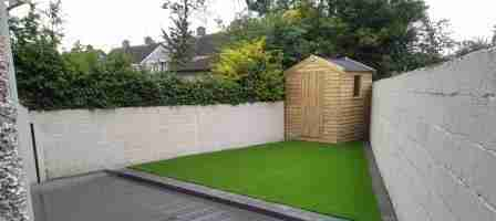 Artificial Lawn and Composite Decking, Maple Drive, Drogheda co.Louth