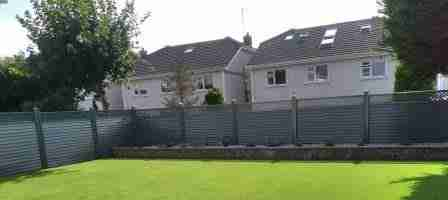 Elite Fencing, Artificial Lawn, Low maintenance Contemporary Garden Design, Wheaton hall ,Drogheda co. Louth