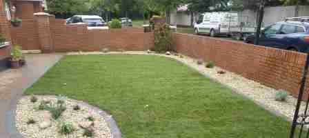 Front Garden Makeover, Wheaton Hall, Drogheda co.Louth