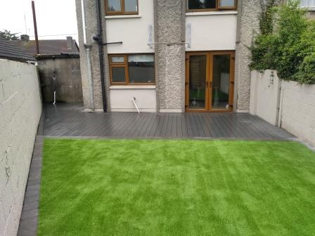 New Artficial Lawn and Composite Deck