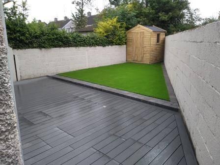 Image of low maintenace garden