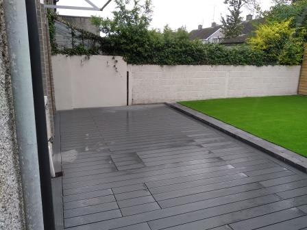 Soft grey Composite Decking