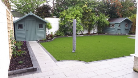 Artificial lawn design