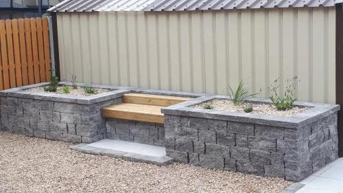 Connemara walling  bench seating